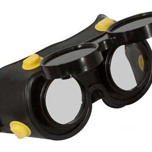 Очки газосварщика с комплектом затемненных и прозрачных минеральных стекол Дельта (арт. 20322)