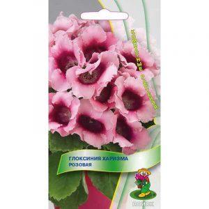 Глоксиния Харизма Розовая ЦВ К 5шт