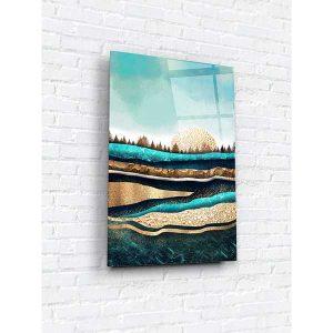 Картина на стекле 40х60 Таинственный лес 1