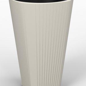 Горшок пластмассовый с вкладышем Lamela MUZA LA887-74 390х610 мм
