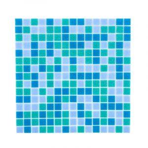 Мозаика стекл BTS108 голуб 32