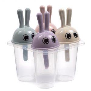 Форма для мороженого пластмассовая на 4 порции 12*7*11